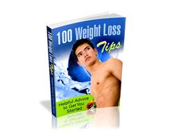 Free PLR eBook – 100 Weight Loss Tips