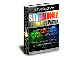 Free PLR eBook – 62 Ways to Save Money at the Gas Pump