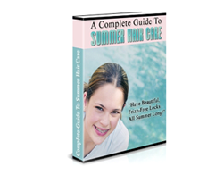 Free PLR eBook – A Complete Guide to Summer Hair Care
