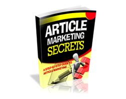 Free PLR eBook – Article Marketing Secrets
