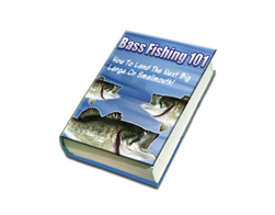 Free PLR eBook – Bass Fishing 101