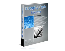 Free PLR eBook – Blogging Cash Course