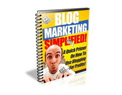 Free PLR eBook – Blogging Simplified