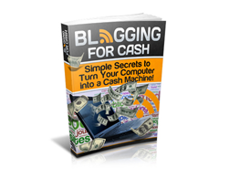 Free PUR eBook – Blogging for Cash