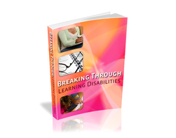 Free PLR eBook – Breaking through Learning Disabilities