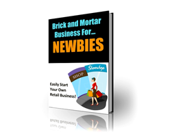 Free PLR eBook – Brick and Mortar Business for Newbies