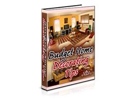 Free PLR eBook – Budget Home Decorating Tips
