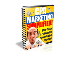 Free PLR eBook – CPA Marketing Simplified