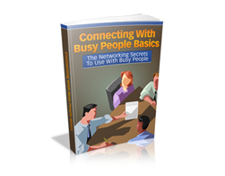 Free MRR eBook – Connecting with Busy People Basics