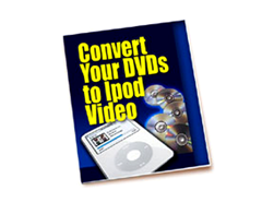 Free PLR eBook – Convert Your DVDs to iPod Video