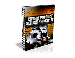 Free PLR eBook – Covert Product Selling Principles