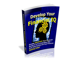 Free PLR eBook – Develop Your Financial IQ