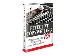 Free PLR eBook – Effective Copywriting 101