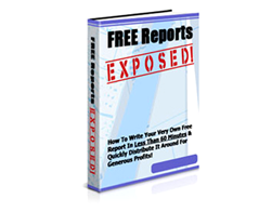 Free PLR eBook – Free Reports Exposed!