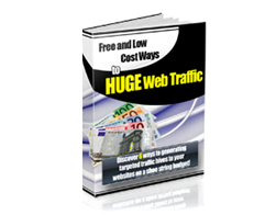 Free PLR eBook – Free and Low Cost Ways to Huge Web Traffic