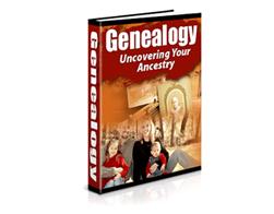 Free PLR eBook – Genealogy