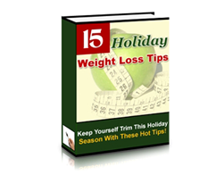 Free PLR eBook – Holiday Weight Loss Tips
