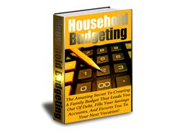 Free PLR eBook – Household Budgeting