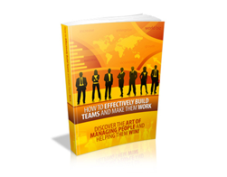Free MRR eBook – How to Effectively Build Teams and Make Them Work