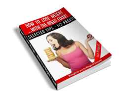 Free MRR eBook – How to Lose Weight with the Right Food!