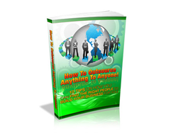 Free PLR eBook – How to Outsource Anything to Anyone