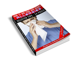 Free MRR eBook – How to Win Your War Against Allergies