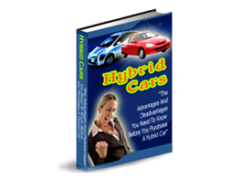 Free PLR eBook – Hybrid Cars