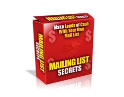 Free PLR eBook – Mailing List Secrets