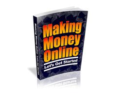 Free PLR eBook – Making Money Online