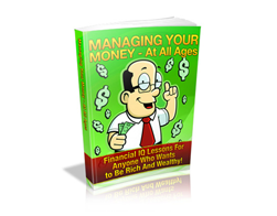 Free MRR eBook – Managing Your Money at All Ages