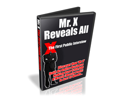 Free PLR eBook – Mr. X Reveals All