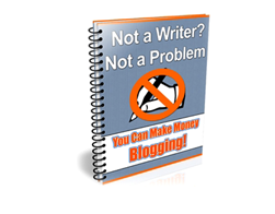 Free PLR eBook – Not a Writer Not a Problem
