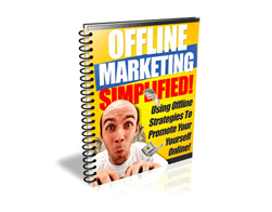 Free PLR eBook – Offline Marketing Simplified