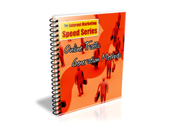Free PLR eBook – Online Traffic Generation Methods