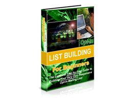 Free PLR eBook – Opt-in List Building for Beginners