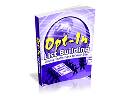 Free PLR eBook – Opt-in List Building