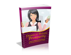 Free PLR eBook – Passion Driven Prosperity