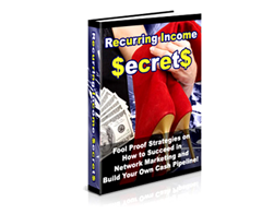 Free PLR eBook – Recurring Income Secrets