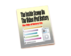 Free PLR eBook – The Inside Scoop on the Video iPod Battery