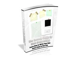 Free PLR eBook – The Speedy Guide to Web Copywriting