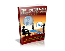 Free PLR eBook – The Unstoppable Internet Entrepreneur Mindset