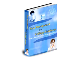 Free PLR eBook – Time Management for College Students