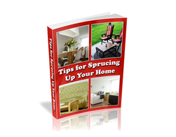 Free PLR eBook – Tips for Sprucing up Your Home