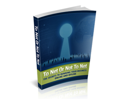 Free MRR eBook – To Net or Not to Net