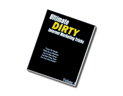 Free PLR eBook – Ultimate Dirty Internet Marketing Tricks