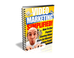 Free PLR eBook – Video Marketing Simplified