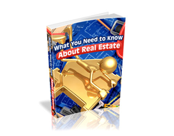 Free PLR eBook – What You Need to Know About Real Estate