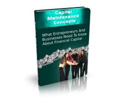 Free MRR eBook – Capital Maintenance Concepts