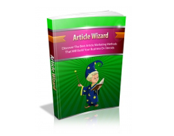 Free MRR eBook – Article Wizard
