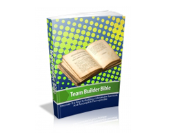 Free MRR eBook – Team Builder Bible